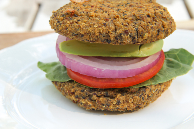 True Food Kitchen Quinoa Burger Nutrition